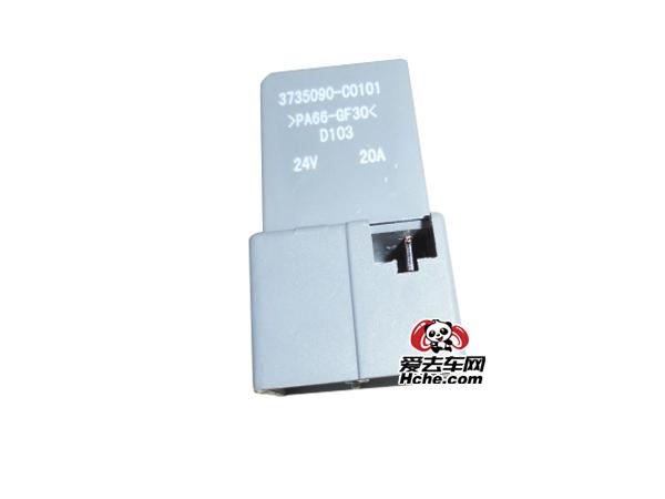 东风汽车配件 东风康明斯 东风天龙天锦大力神继电器总成3735090-C0101