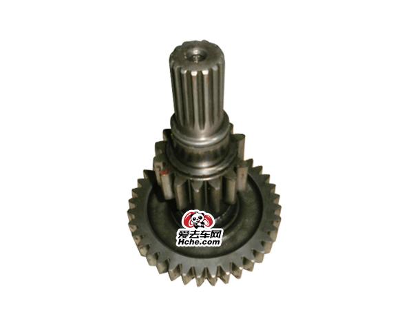 东风汽车配件 副箱焊接轴总成A-5119