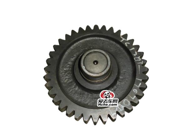 东风汽车配件 副箱加长中间轴焊接总成JS130T-1707047