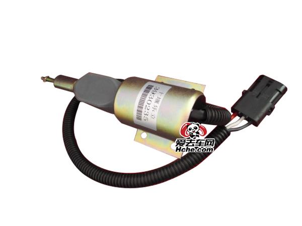 东风汽车配件 东风汽车 东风康明斯断油电磁阀 熄火器3930236(24V) 3930235(12V)
