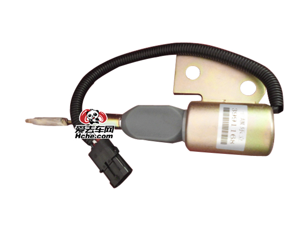 东风汽车配件 东风汽车 康明斯4BT工程机械专用断油电磁阀3991168