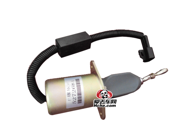 东风汽车配件 东风汽车 康明斯6CT8.3系列工程机械专用断油电磁阀C5272681