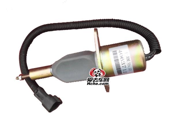东风汽车配件 东风汽车 康明斯6CT工程机械电子熄火器电磁阀4063712