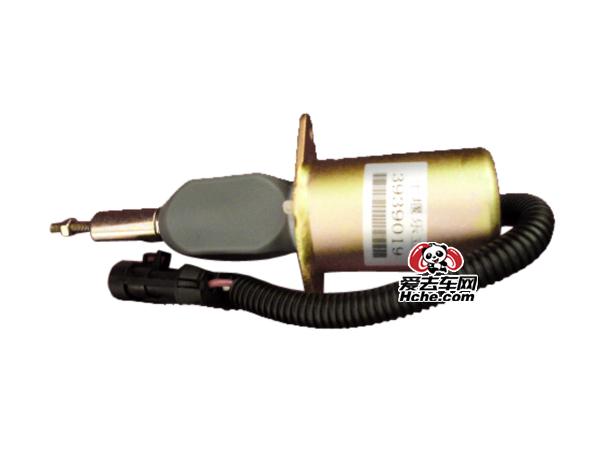 东风汽车配件 康明斯工程机械发动机熄火电磁阀 3939019
