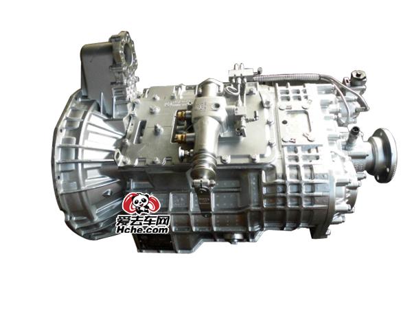 东风汽车配件 法士特12档快速带同步器变速箱总成12JSD200TA