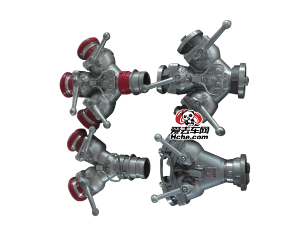 消防车(纯正)配件 二分水器(卡口式)