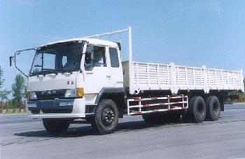 解放牌CA1246P1K2L9T1A型6X4平头柴油载货汽车图片
