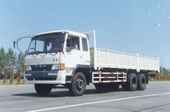 解放牌CA1246P1K2L8T1A型6X4平头柴油载货汽车图片