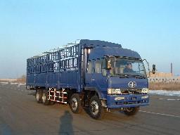 解放牌CA5310CLXYP4K2L11T4A70型平头8X4仓栅式载货汽车图片
