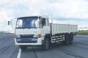 解放牌CA1246P1K2L7T1A型6X4平头柴油载货汽车图片