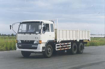 解放牌CA1246P1K2L2T1A型6X4平头柴油载货汽车图片
