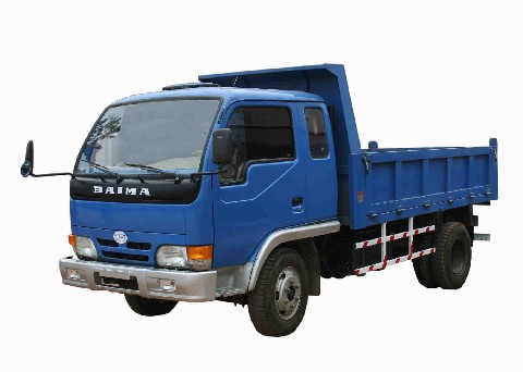 白马牌BM5815PD型自卸低速货车