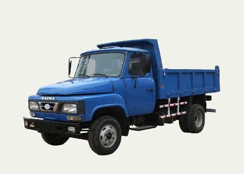 白马牌BM4010CD型自卸低速货车