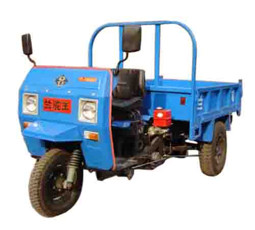 兰驼牌7Y-1450AD2型自卸三轮汽车图片
