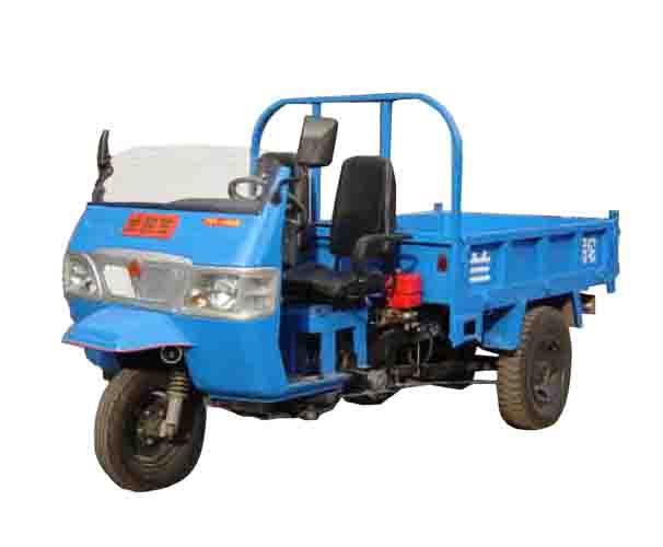 兰驼牌7YP-1450D型自卸三轮汽车图片