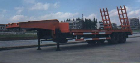 驰乐牌SGZ9260TGJ-G型工程机械运输半挂车图片