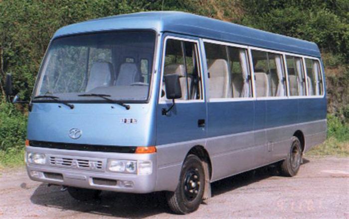 7.1米|19-27座迎客松客车(CAK6710B)