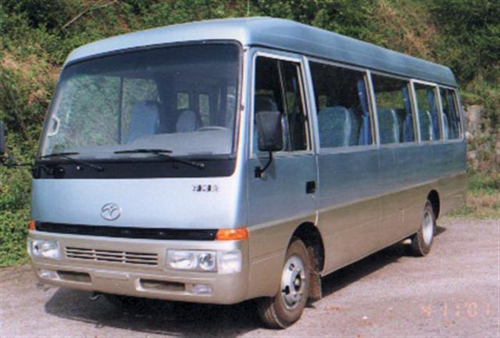7.1米|19-30座迎客松客车(CAK6710C)