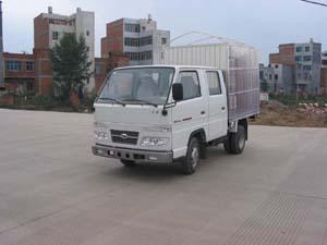 蓝箭牌LJC2810WCS型仓栅式低速货车图片