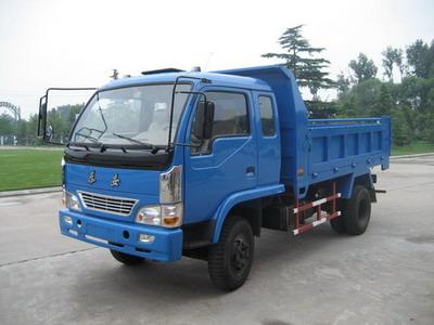 泰安牌TAS5815PD型自卸低速货车