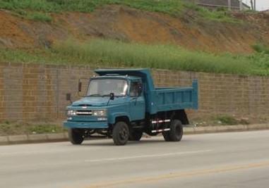 川路牌CGC5820CD型自卸低速货车图片