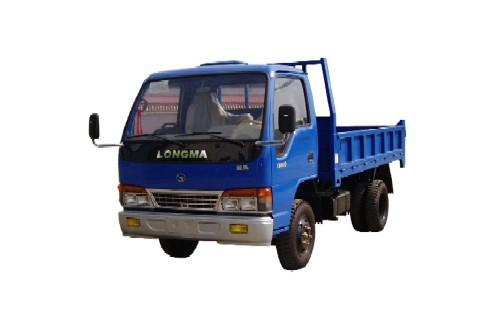 龙马牌LM5815D型自卸低速货车图片