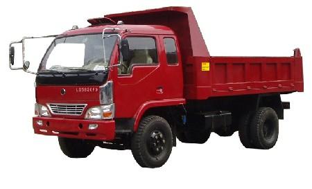 联达牌LD5820PD型自卸低速货车