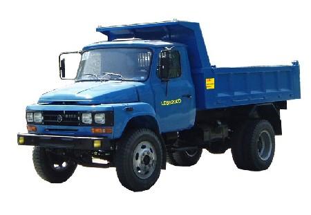 联达牌LD5820CD型自卸低速货车