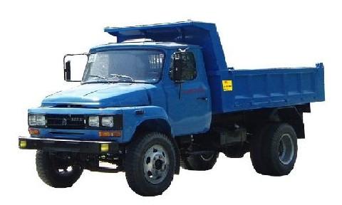 联达牌LD4025CD型自卸低速货车