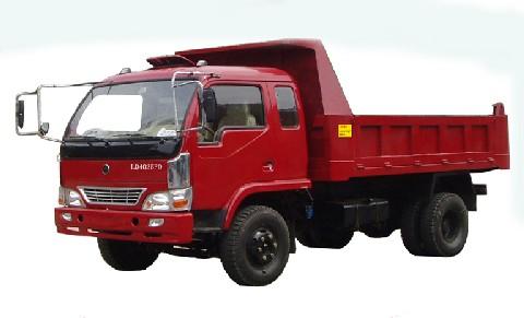 联达牌LD4025PD型自卸低速货车