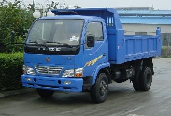 川路牌CGC4020D型自卸低速货车