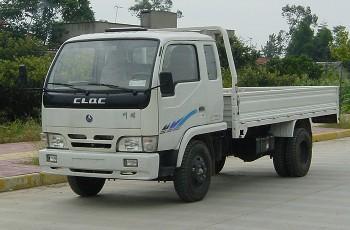 川路牌CGC4020PD2型自卸低速货车
