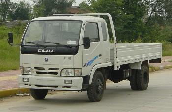 川路牌CGC2820PD5型自卸低速货车