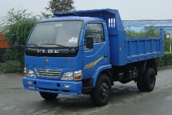 川路牌CGC5820D1型自卸低速货车