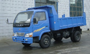 川路牌CGC2820D4型自卸低速货车