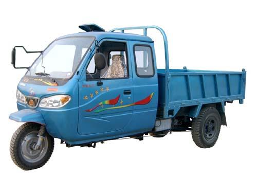 双力牌7YPJ-1450DA型自卸三轮汽车