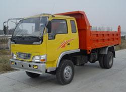博莱特牌BLT5820PD型自卸低速货车
