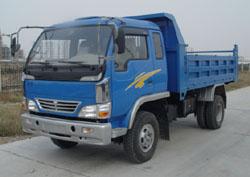 博莱特牌BLT5815PD型自卸低速货车