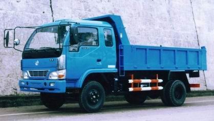 岳城牌YC5815PD型自卸低速货车
