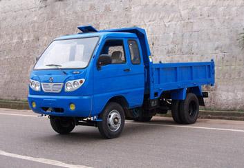 岳城牌YC1405PD型自卸低速货车