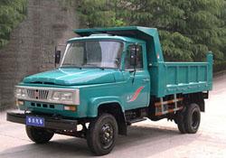 华川牌DZ4015CD3型自卸低速货车图片