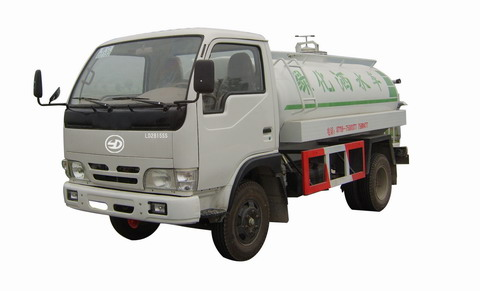 联达牌LD2815SS型洒水低速货车