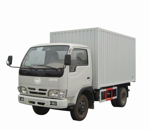 联达牌LD2810X型厢式低速货车