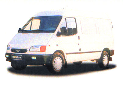 江铃全顺国二微型厢式货车109马力2吨(JX1046DX-M)