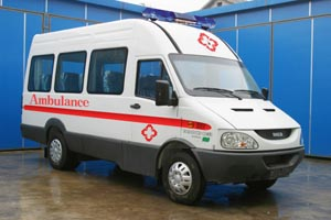 依维柯牌NJ5046XJHN型依维柯救护车
