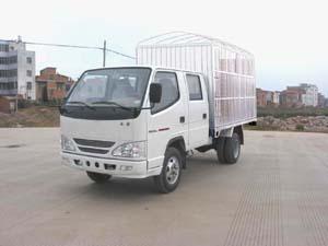 蓝箭牌LJC4010WCS型仓栅式低速货车图片