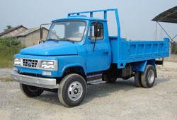 宝石牌BS2810CD型自卸低速货车