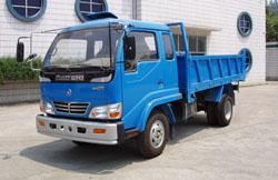 宝石牌BS2810PD型自卸低速货车