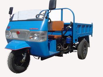 常柴牌7YP-1150D型自卸三轮汽车