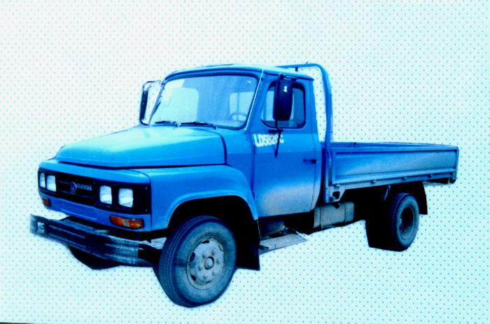 联达牌LD5820C型低速货车